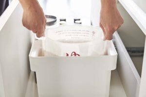 山崎実業 tower 袋ごと米びつ5kg